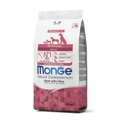 MONGE ADULT ALL BREED MONOPROTEICO MANZO 2,5 KG