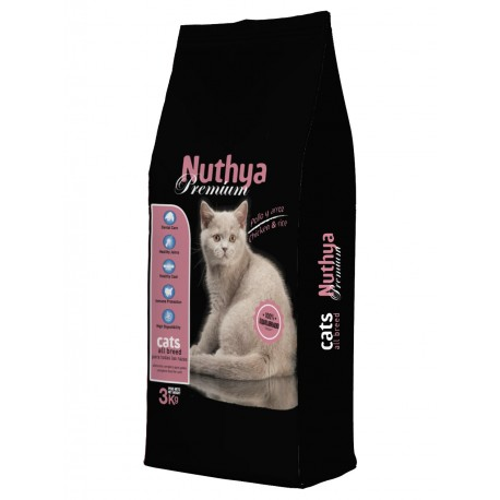 NUTHYA PREMIUM CATS KG 3
